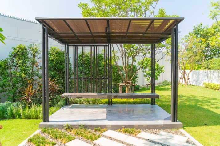תכנון נוף ועיצוב גינה בבית פרטי