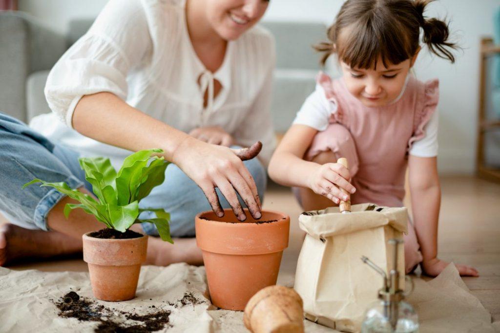 סדנת גינון לקבוצות הורים וילדים